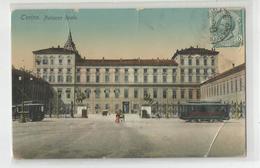 Italie Italia Italy - Torino Palazzo Reale Tram Tramway 1915 - Palazzo Reale