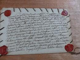 N19 : TRES RARE - ANCIEN TESTAMENT L'AN 1787 - Acciones & Títulos