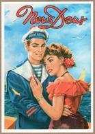 """""""Nous Deux"""" - Dans Les Bras Du Marin (couple, Pin Up, Sexy, Marine Nationale, Magazine) - Coppie"""