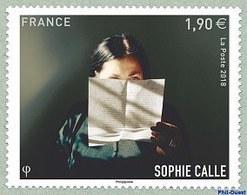 N°5272** Sophie CALLE. - Francia