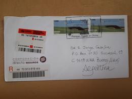 Enveloppe De L'Espagne Distribuée Avec Des Timbres De Golf - Golf