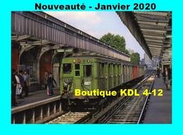 ACACF 626 - Métro Sprague Thomson à La Station Barbès-Rochechouart - PARIS - RATP - Metropolitana, Stazioni
