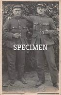 Fotokaart Militairen 1916 - Avekapelle - Veurne