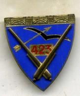 Insigne Du 423é Rgt D Artillerie Antiaérienne___drago - Army