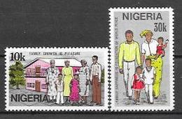 Nigeria N° 416/17 YVERT NEUF ** - Nigeria (1961-...)