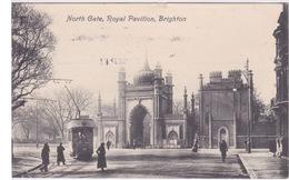 ANGLETERRE - LONDRES - LONDON - BRIGHTON - NORTH GATE ROYAL PAVILLON - TRAM TRAMWAY - Otros