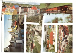 6 Legoland LEGO  Brick Postcards MINILAND 1970'ies - Dänemark