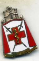 Insigne Du CIISS N°1, VINCENNES___drago - Medicina