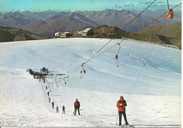 Rifugio Livrio (Sondrio) Passo Stelvio, Scuola Di Sci Estiva, Sciovia Con Sciatori - Sondrio