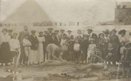 80 AULT ONIVAL - BELLE CARTE PHOTO  CONCOURS  CHATEAU DE SABLE - Onival