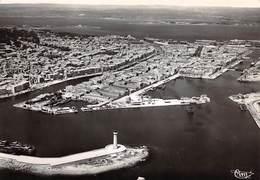 34 .n° 21093 .  Sete . Vue Panoramique Sur Le Port .cpsm .10.5 X 15cm . - Sete (Cette)
