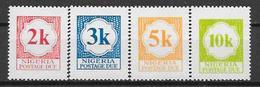 Nigeria N° T11/14 YVERT NEUF ** - Nigeria (1961-...)