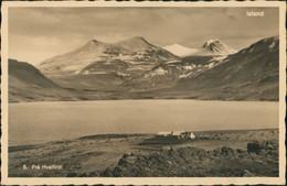 Island Allgemein-Island Iceland 5. Frá Hvalfirði Iceland Island 1930 - Islande