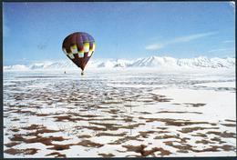 Expédition Polaire Au Spitzberg 1985 (voir Les 2 Scans) - Fesselballons