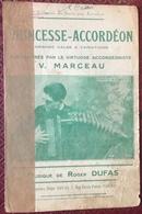 (116) Partituur - Partition - Princesse-Accordéon - Roger Dufas - Mandoline - Partitions Musicales Anciennes