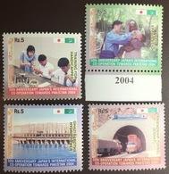 Pakistan 2004 Japan Cooperation Minisheet MNH - Pakistan