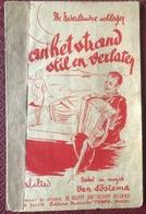 (118) Partituur - Partition - Aan Het Strand Stil En Verlaten - Van Postema - Partitions Musicales Anciennes