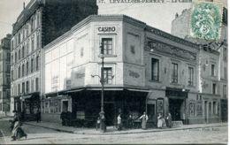 N°3380 T -cpa Levallois Perret -le Casino- - Levallois Perret