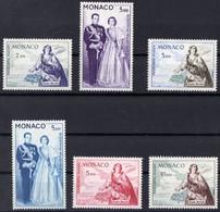 MONACO PA N** 73 A 78  MNH - Poste Aérienne