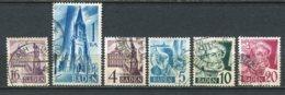 16759 ALLEMAGNE (Occupation Française)  Bade  N°23, 27, 29/30, 33/4°    1948   TB - Zone Française