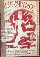 (120) Partituur - Partition - Valse Chinoise - Colombo - Partitions Musicales Anciennes