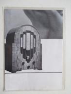 Poste Radio Art Deco PHILLIPS 636  - Ancienne Coupure De Presse De 1934 - Littérature & Schémas