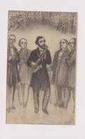 Dinant Adolphe Sax Présente Le Saxophone A Ses Amis Berlioz,rossini,meyerbeer Carte Illustrateur DAOUST - Dinant