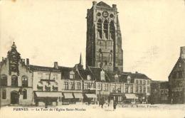 CPA - Belgique - Veurne - Furnes - Tour De L'Eglise De Saint-Nicolas - Veurne