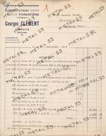 Exploitation Forestière Georges Clément à Vibraye, 1945 - 1900 – 1949