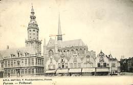 CPA - Belgique - Veurne - Furnes - Tribunal - Veurne