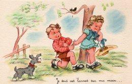 """Louis Gougeon Illustrateur """"je Sens Vos Larmes Sur Ma Main"""" - Gougeon"""