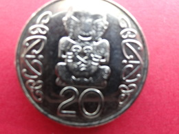 New Zealand  20  Cents  1990  Km 81 - Nouvelle-Zélande