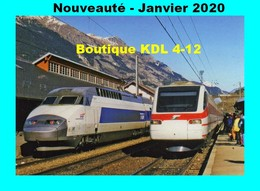ACACF 635 - TGV Atlantique N° 301 En Gare - MODANE - Savoie - SNCF - Modane