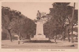 Nouvelle Caledonie Noumea Monument Aux Morts - Nouvelle-Calédonie