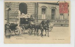PARIS VÉCU - Livraison Par Un Grand Magasin - Francia