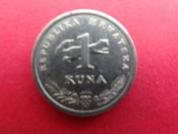 Croatie 1 Kuna 2015  Km 9-1 - Croatie