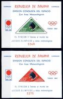 Panama MiNr. Block 29-30 Postfrisch MNH Olympia 1964 Tokio (Oly862 - Briefe U. Dokumente