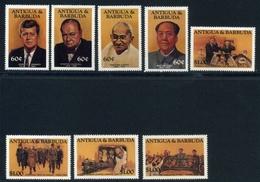 Antigua Und Barbuda MiNr. 814-21 Postfrisch MNH Politiker (E664 - Antigua And Barbuda (1981-...)