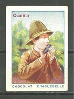 CHROMO CHOCOLAT AIGUEBELLE / INSTRUMENTS DE MUSIQUE OCARINA - Aiguebelle