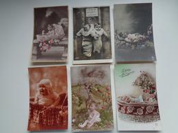 Beau Lot De 20 Cartes Postales De Fantaisie Bébés  Bébé    Mooi Lot 20 Postkaarten Van Fantasie  Baby -  20 Scans - 5 - 99 Cartes