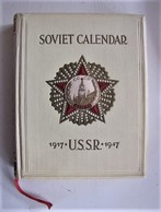 SOVIET CALENDAR - 1917 * U.S.S.R.* 1947 - Livres Anciens
