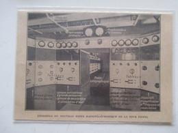 TOUR EIFFEL Radio  - Le Nouveau Poste Radiotéléphonique    - Ancienne Coupure De Presse De 1929 - Littérature & Schémas