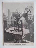 Liberty Street (Manhattan) Radio  - High Tower Radar    - Ancienne Coupure De Presse De 1946 - Littérature & Schémas