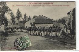 Remiremont - 15e Bataillon De Chasseurs Aux Manoeuvres De Montagnes - Remiremont