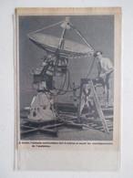 Antenne Automatique De Ballon De Renseignements     - Ancienne Coupure De Presse De 1950 - GPS/Radios