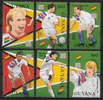 GUYANA    N°  3415/20 *  *  ( Cote 9e )  Cup 1994    Football  Soccer  Fussball - Coupe Du Monde