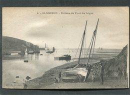 CPA - SAINT BRIEUC - Entrée Du Port Du Légué, Animé - Bateaux De Pêche - Saint-Brieuc