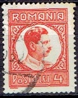 ROMANIA # FROM 1930 STAMPWORLD 388  TK: 14 1/2 X 14 - Usado