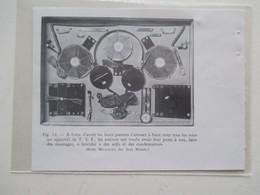 Jeux BOITE MACARADIO - Appareil TSF à Monter  Ets Des Jeux Réunis  - Ancienne Coupure De Presse De 1933 - Littérature & Schémas