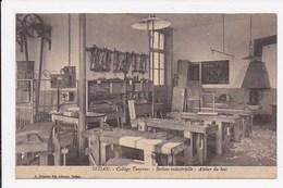 CP 08 SEDAN College Turenne Section Industrielle Atelier Du Bois - Sedan